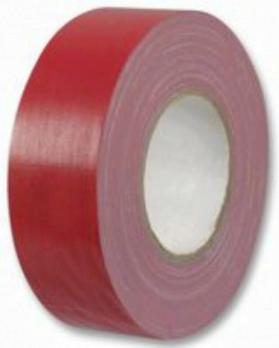 50m X 50mm Red Duct Tape For General Purpose Use